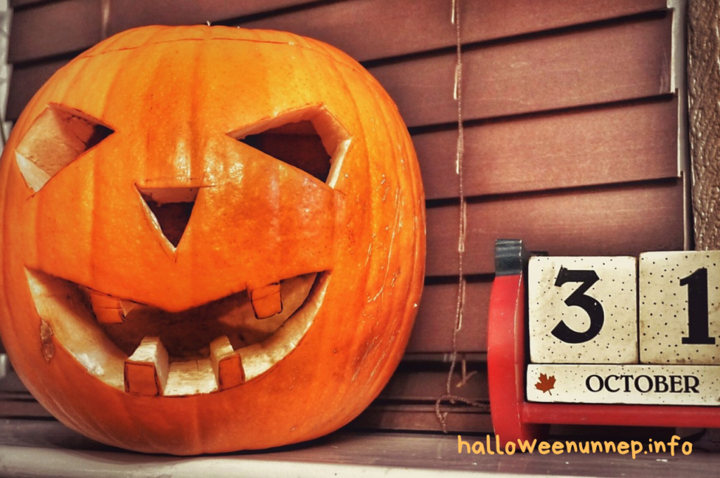 egyszerű halloween tök