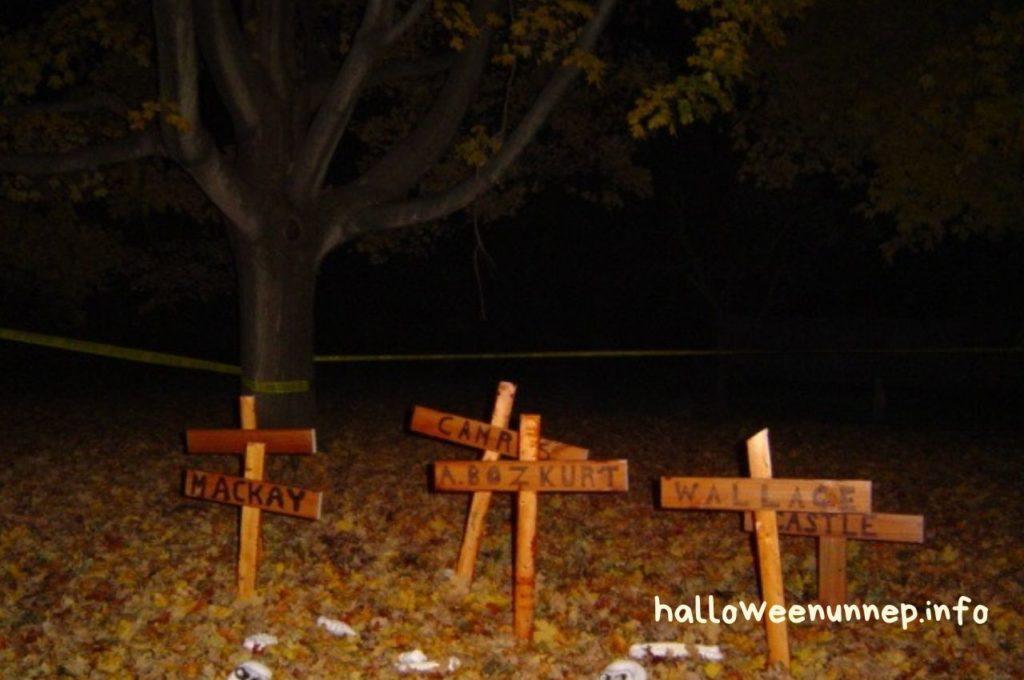 Halloween dekoráció - keresztek