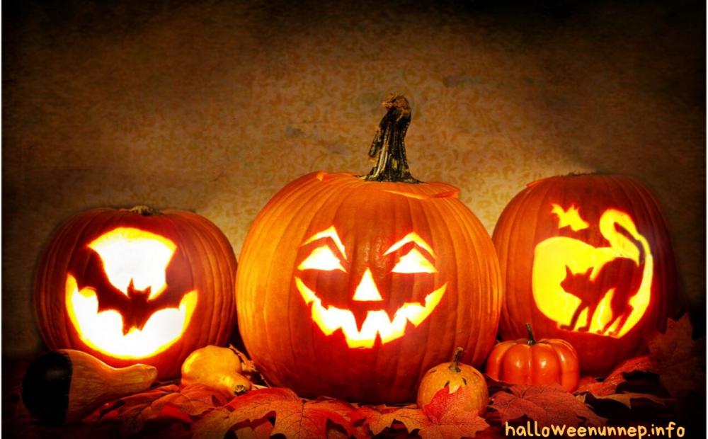 Halloween lámpások