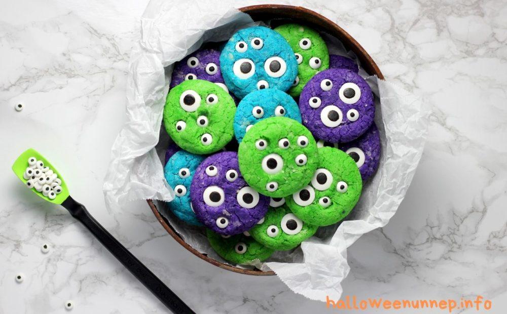 Halloween süti szörny