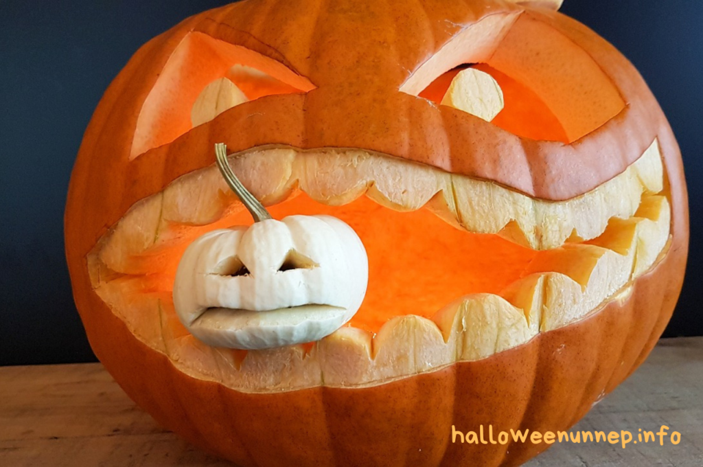 Halloween tök fogságban