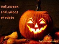 Halloween töklámpás eredete