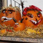 Halloween tök boszorkány