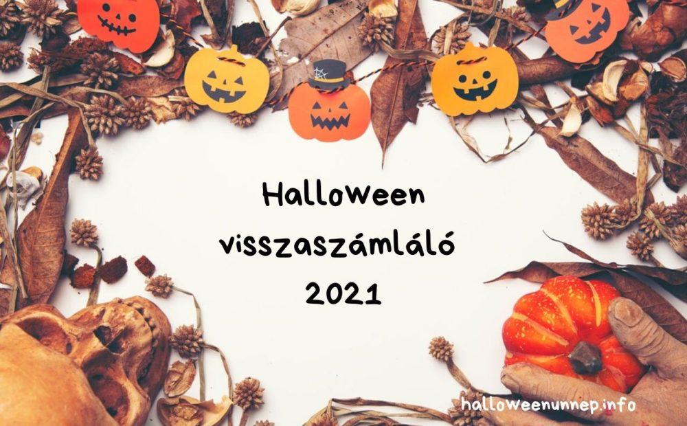 Halloween visszaszámláló 2021