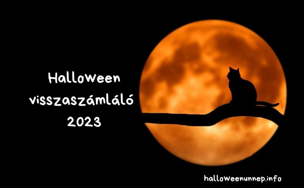 Halloween visszaszámláló 2023