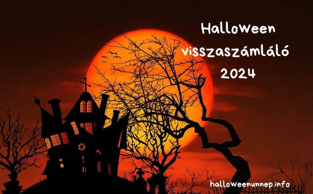 Halloween visszaszámláló 2024
