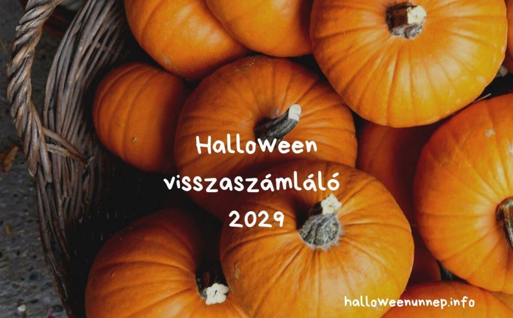 Halloween visszaszámláló 2029