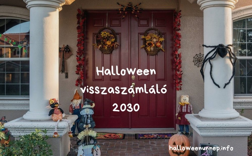 Halloween visszaszámláló 2030
