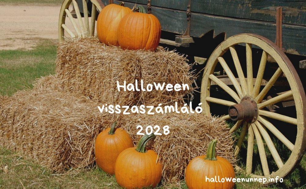 Halloween visszaszámláló 2028
