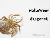 Halloween ékszerek