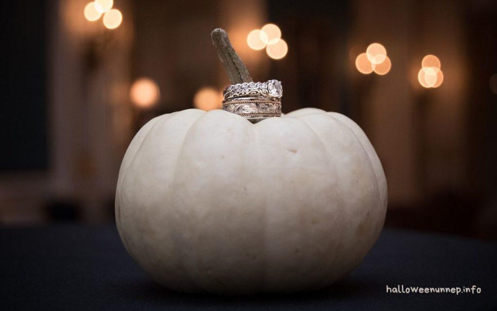 Halloween karikagyűrű