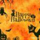 Egyszerű halloween dekoráció
