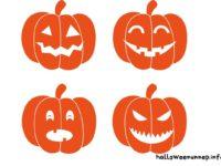 Halloween dekoráció sablonok